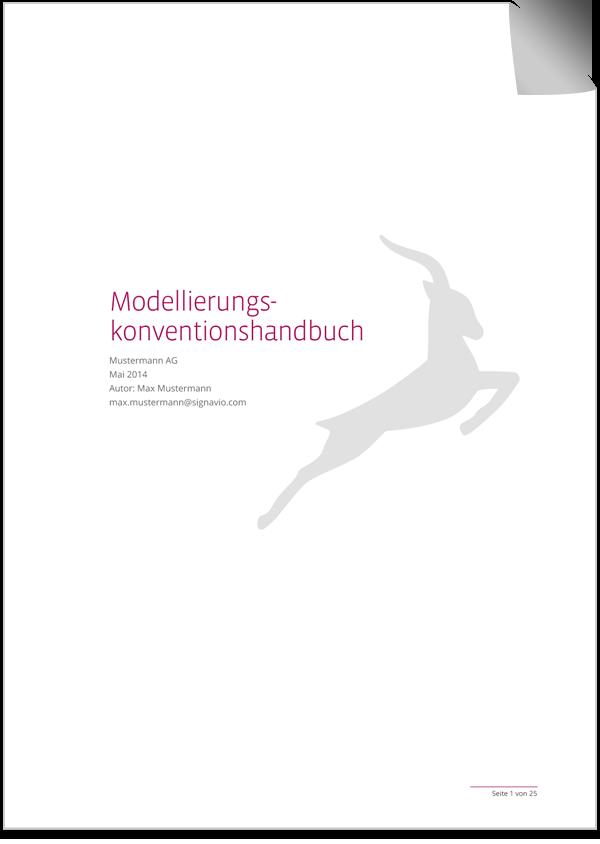 Cover Modellierungskonventionenhandbuch